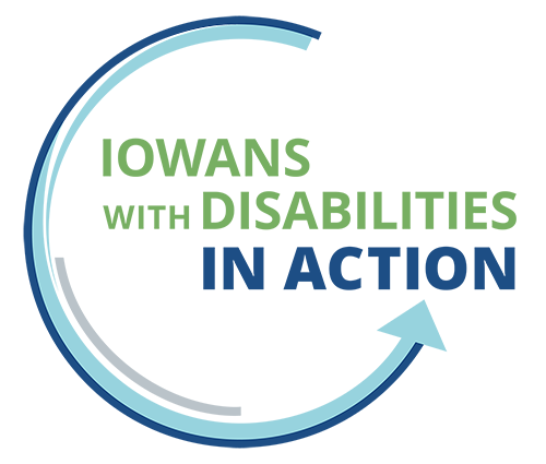 Iowans with Disabilities in Action Logo